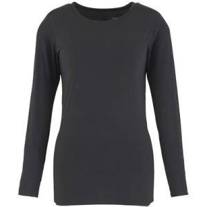 (ダンスキン)DANSKIN フィットネス Skinish 長袖シャツ DA16303 [レディース] DA16303 K ブラック M montaukonline