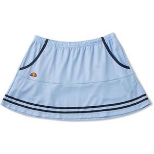 (エレッセ)ellesse テニスウェア TEAMスカート ETS2750L [レディース] ETS2750L BN ブラシットブルー×ネイビー S montaukonline