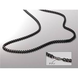 ファイテン(phiten) ネックレス 炭化チタンチェーンネックレス 65cm