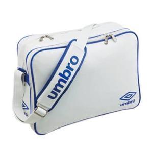 アンブロ(UMBRO) チーム対応エナメルバッグ(ホワイト/ブルー) UJS1007-WBU WBU