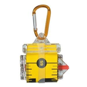 ノギスケール 65イエロー  SPEC ●計測範囲:650mm ●仕舞寸法:90x80x30mm ●...