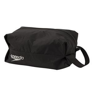 Speedo(スピード) スイムバック ポーチ 防水 ウォータープルーフ S 水泳 プール SD98B66 ブラック K montaukonline