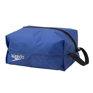 Speedo(スピード) スイムバック ポーチ 防水 ウォータープルーフ M 水泳 プール SD98B67 ブルー BL montaukonline