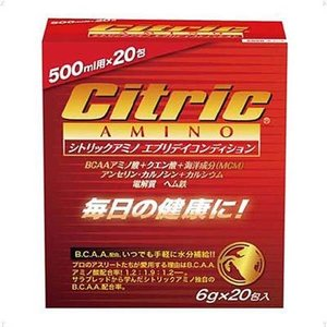 シトリックアミノ(Citric AMINO) (美容と健康) エブリディコンディション 6g×20包入 8157