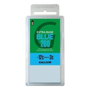 GALLIUM〔ガリウム〕EXTRA BASE WAX エクストラベースワックス BLUE(200g) SW2078 スキー・スノーボード兼用|montaukonline