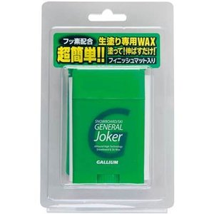 GALLIUM(ガリウム) スキー&スノーボード ワックス GENERAL Joker (30g) SW2158|montaukonline
