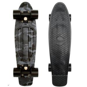 日本限定モデル第3弾 Penny ペニースケートボード ブラックナイトカモ 22|montaukonline