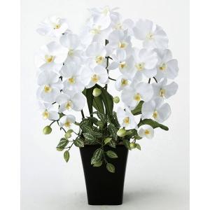 光触媒胡蝶蘭(造花の胡蝶蘭) 光の楽園 プリンセス胡蝶蘭W|montbrette