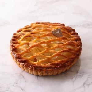 国産リンゴのアップルパイ(直径約15cm)【店鋪受取】*お受け取りの3営業日前までにご予約ください*当日・翌日のお引渡しは承っておりません。|monterosa-cake