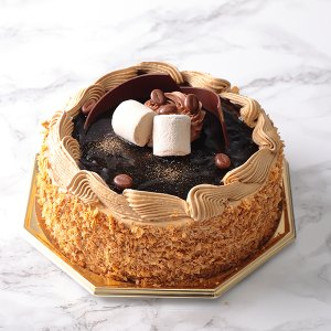 カフェ・ショコラ(直径約15cm)【店鋪受取】*お受け取りの3営業日前までにご予約ください*当日・翌日のお引渡しできません。|monterosa-cake