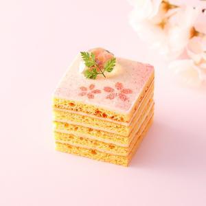 季節限定・桜のオペラ・桜の葉・オレンジリキュールグミ・おすすめ【店鋪受取】 monterosa-cake