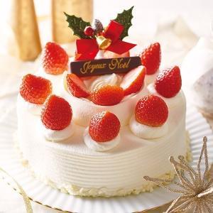 【予約終了いたしました】2018ホワイト クリスマス、直径約21cm、北海道産生クリーム小麦粉、和三盆糖、ハーブ卵、【店鋪受取】 monterosa-cake
