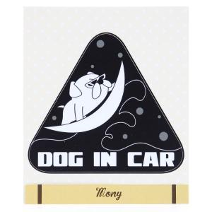 ドッグインカー フレンチブル サーフィン ブラック|mony