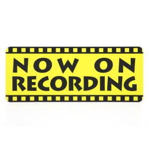 ドライブレコーダーステッカー 映画フィルム 防犯 煽り防止|mony