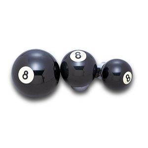 ラッキー 8ボール シフトノブ Mサイズ|mooneyes