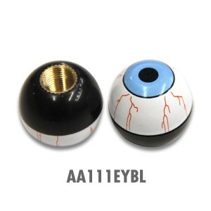 Air Valve (エアーバルブキャップ)アイボール ブルー mooneyes