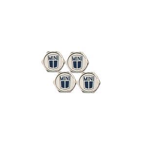 ロゴ エア バルブ キャップ(レンチ キーリング 付き) - MINI|mooneyes