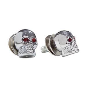 クローム Skull ライセンス ボルト|mooneyes