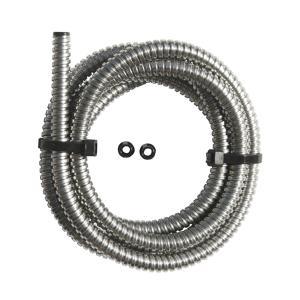ステンレス スティール フレックス ワイヤー/ホース カバー 1/4インチ|mooneyes