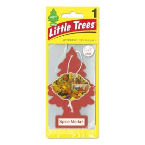 Little Tree(リトルツリー)エアーフレッシュナー スパイス マーケット|mooneyes