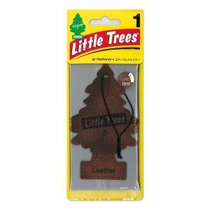 Little Tree エアーフレッシュナー レザー|mooneyes