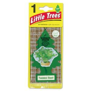 Little Tree(リトルツリー)エアーフレッシュナー Twisted Basil|mooneyes