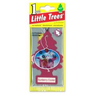 Little Tree エアー フレッシュナー サンベリー クーラー|mooneyes