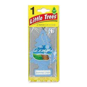 Little Tree(リトルツリー)エアーフレッシュナー Summer Linen|mooneyes