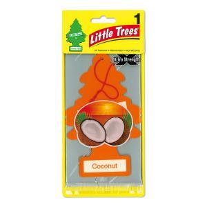 リトル ツリー Little Trees エアーフレッシュナー ココナッツ ビックサイズ|mooneyes