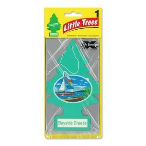 Little Trees エアーフレッシュナー ベイサイド ブリーズ ビックサイズ|mooneyes
