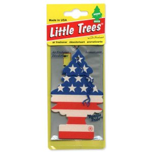 Little Tree エアーフレッシュナー スター&ストライプ|mooneyes