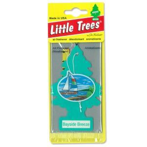 Little Trees エアーフレッシュナー ベイサイド ブリーズ|mooneyes