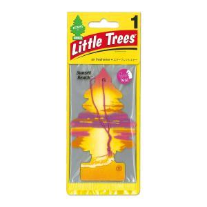 Little Tree (リトル ツリー) エアーフレッシュナー サンセット ビーチ|mooneyes