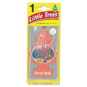 Little Tree(リトルツリー)エアーフレッシュナー Coral Reef|mooneyes