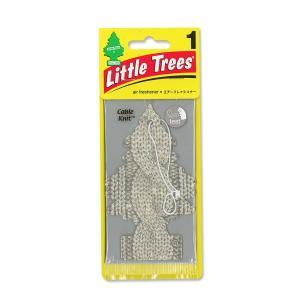 Little Tree エアーフレッシュナー ケーブル ニット|mooneyes