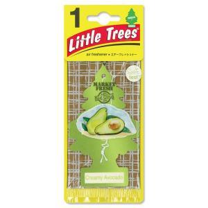 Little Tree(リトルツリー)エアーフレッシュナー Creamy Avocado|mooneyes