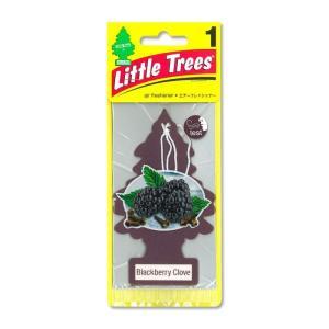 Little Tree エアーフレッシュナー Black Berry