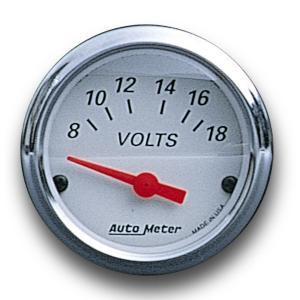 アークティック ホワイト/レッド ポインター 8-18 電圧|mooneyes
