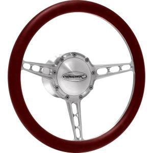 Budnik Steering Wheel Stratos|mooneyes