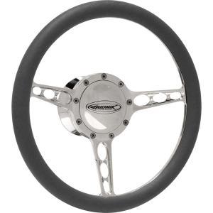 Budnik Steering Wheel Tri-Oval|mooneyes