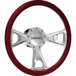 Budnik Steering Wheel Crown|mooneyes