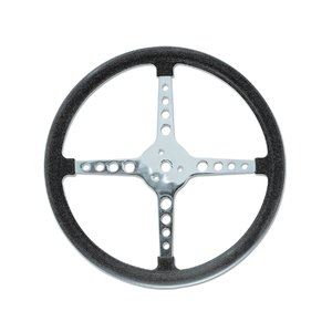 Bell Style Steering Wheel ラウンドホール 4スポーク 34cm mooneyes