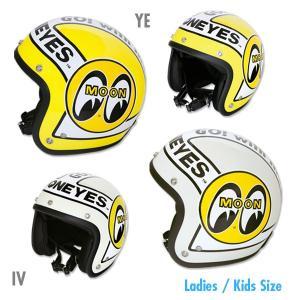 MOONEYES レディース/キッズ ヘルメット|mooneyes