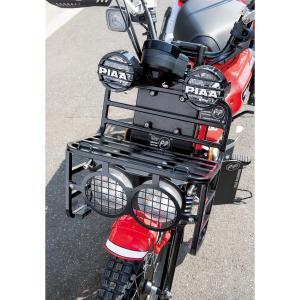 ムーンアイズ ホンダ ハンターカブ CT125 デュアル ヘッドライト フロント ラック キット|mooneyes