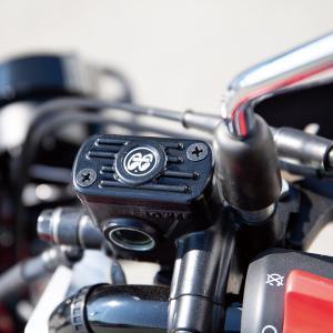 ムーンアイズ ホンダ ハンターカブ CT125 アッパー ブレーキ バンプ カバー|mooneyes