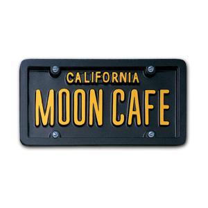 USA カスタム オーダー ライセンス プレート - カリフォルニア ブラック|mooneyes