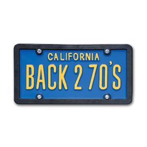 USA カスタム オーダー ライセンス プレート - カリフォルニア ブルー|mooneyes