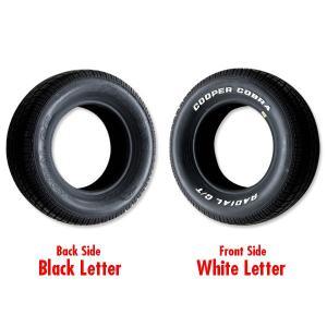 クーパー ラジアル GT レイズド ホワイト レター タイヤ P255/60R-15|mooneyes