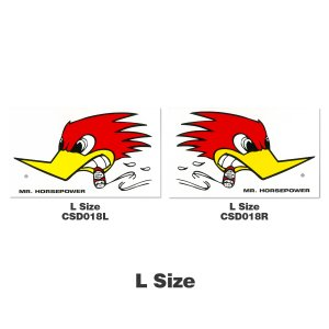 クレイスミス ステッカー 【L】 28 x 16cm|mooneyes