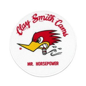 クレイスミス パッチ MR.HORSEPOWER パッチ ラウンド|mooneyes